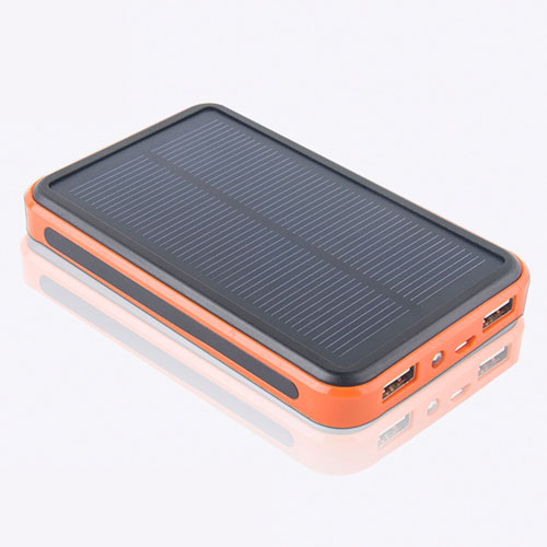 10000mAh Solar Power Bank With LED Light