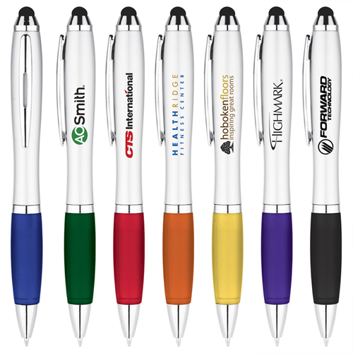 Creative Ballpoint Pen With Stylus