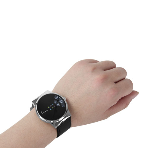 Unique Leather Digital Sports Watch