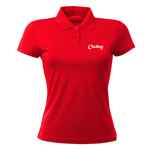 Womens Lapel Polo Shirt